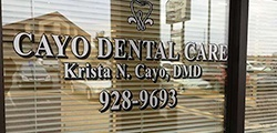 Front entrance to Cayo Dental Care