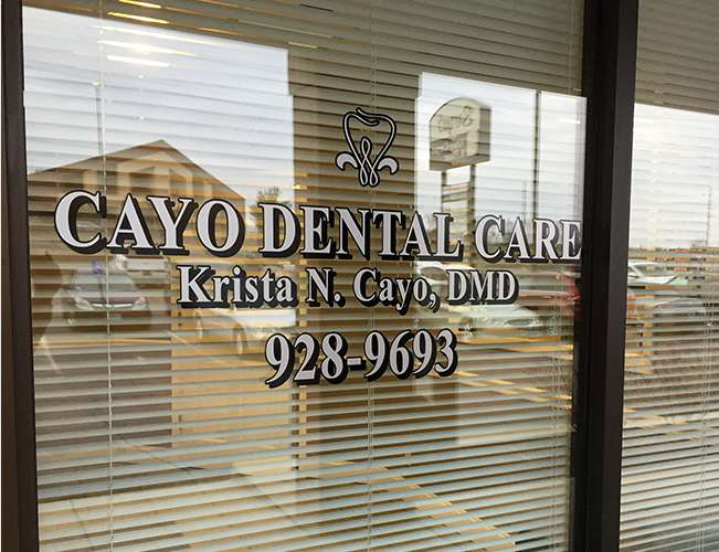 Cayo Dental Care entrance